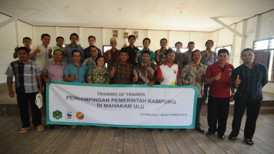 Pelatihan Pendamping Kampung di Kabupaten Mahakam Ulu