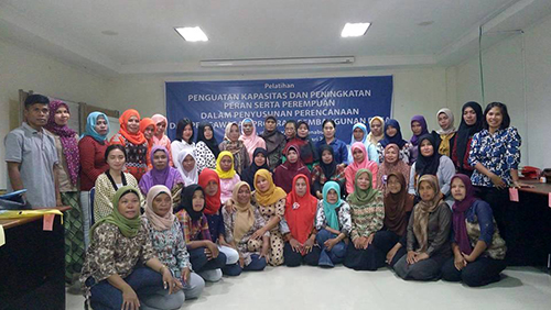 Perempuan Bergerak untuk Perubahan Desa di Sulawesi Tenggara